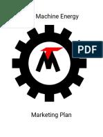 machine marketing plan