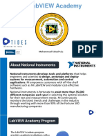 Ni Labview Academy -Tides