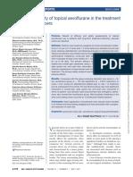 Eficacia y Seguridad Del Sevoflurano en Ulceras Cronicas