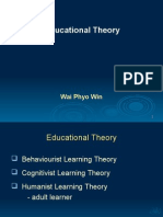 Educational Theory part 1