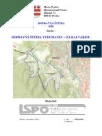 Dopravná štúdia Vydumanec - Za Kalváriou, Prešov - časť 1 z 2