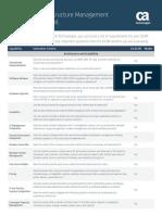 CA Datacenter Infrastructure Management Dcim Evaluation Guide