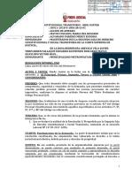PRIMER JUZGADO CONSTITUCIONAL DECLARA IMPROCEDENTE ACCIÓN DE AMPARO DE MUNICIPALIDAD DE LIMA