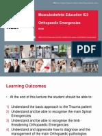 9 Orthopaedic Emergencies