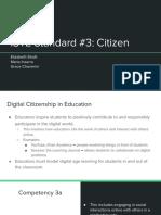 iste standard 3  citizen