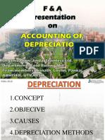 F & a Depreciation 13.9.2018