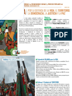 Documento  Político MINGA del Suroccidente Colombiano