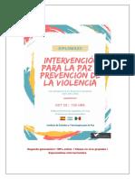 Intervención Para La Paz y Prevención de La Violencia 2018