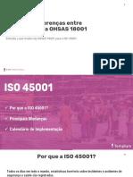 Principais Diferenca Entre OHSAS 18001 e ISO-45001