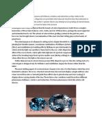 Brilliance , Windows and Extinction in Gemstones