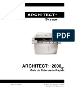 Guia Rapida Architect i2000SR