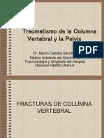 Traumatismo de Columna y Pelvis