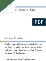 literary criticism lenses