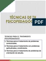 TRATAMIENTO PSICOPEDAGÓGICO