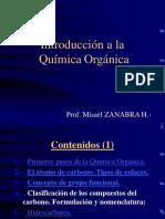 INTRODUCCION QUIMCA ORGANICA
