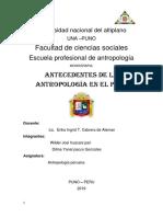 Universidad Nacional Del Altiplano 2019