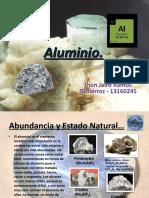 Aluminio- Caracteristicas y Tipos