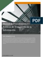 Manual Procedimiento Politica y Tratamiento de La Informacion