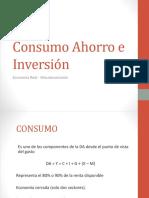 Consumo Ahorro e Inversión (1)