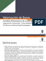 Valorización de bonos