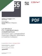 4 Maggio - Colazzo Quintero