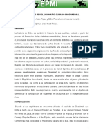 El Proceso Revolucionario Cubano en Guasimal
