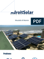 Adroit Solar Limited, First solar startup in Bangladesh