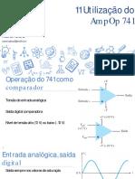 Eletrônica Analógica - 11 Utilização Do AmpOp 741