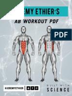 Beginner ABS Routine PDF