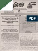 Normativa Formulacion Planes Desarrollo Municipal 2013