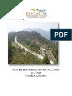 Plan de Desarrollo Municipal Tambla Lempira