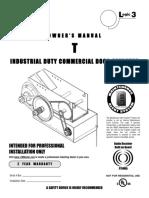 Liftmaster T Industrial Duty
