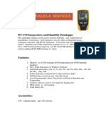 DL 172 Portable Datalogger Temp+Hum