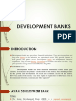 DEVELOPMENT BANKS