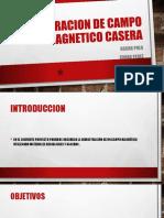 Demostracion de Campo Magnetico Casera