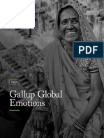 Gallup 2019 Global Emotions Report