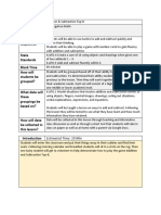 filled-in blended lesson plan template deasialinnen