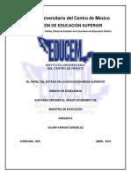 Ensayo de Liberación-julianvargasgonzalez (1aa