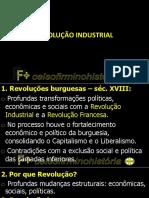 Revolução Industrial - Slides