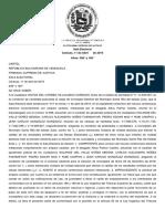 TSJ de Maduro admite recurso contra concejales de Santa Rita