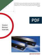 Monteferro Standard Machined Guiderails