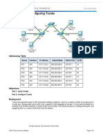 3.2.2.4 Packet Tracer - Configuring Trunks Instructions IG
