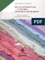 Pedro Aullón de Haro - Idea de la literatura y teoría de los géneros literarios (2016, Universidad de Salamanca).pdf