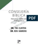 COSEGERIA BIBLICA resumen