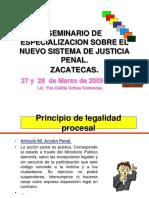 Nuevo Sistema de Justicia Penal Para Zacatecas