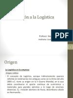 Clase Logistica Introduccion 1