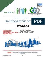 RAPOR DE Stage hamza B.docx