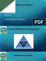Apresentação Auditoria de Sistemas