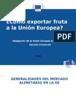 Como Exportar Fruta a La Union Europea
