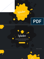 Splasher - Powerpoint Template